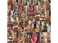 London Henna artist, Ash Kumar qualified, over 18 years experience in bridal and parties