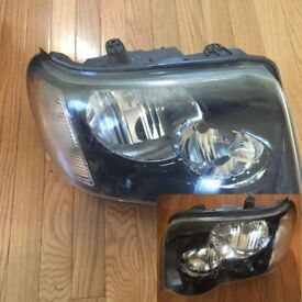 Car Parts Left hand drive type headlights Freelander I facelift 2004 2005 2006 LHD