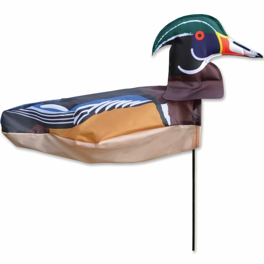 windicator wood duck weather vane inflates to