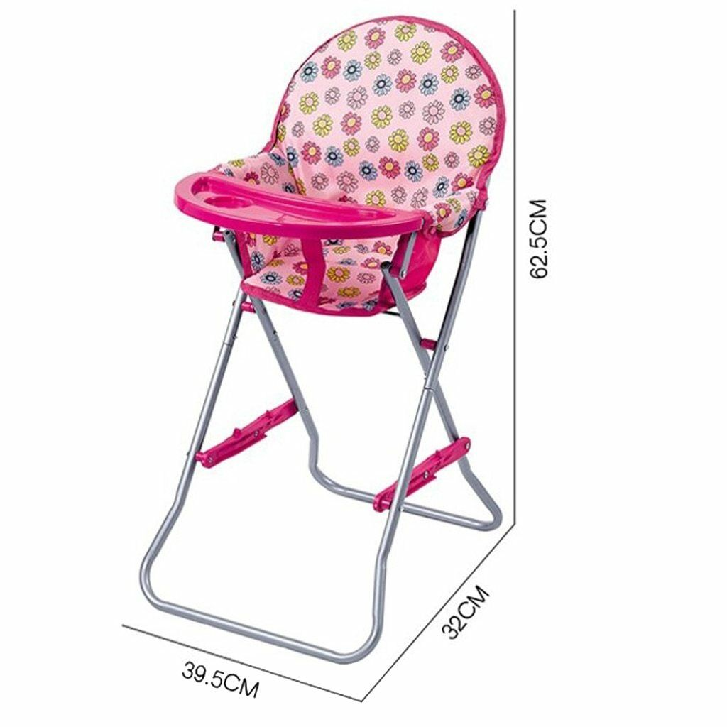Detachable and Folding Baby Toddler Dining High Chair Playse