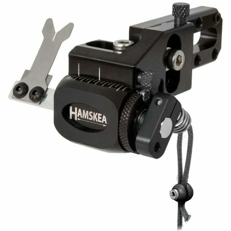Hamskea Hybrid Target Pro Dropaway Arrow Rest MicroTune Black RH - Open Box