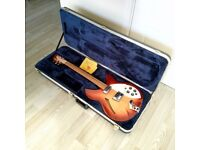 1995 Rickenbacker 330 Fireglo electric guitar with original hard case