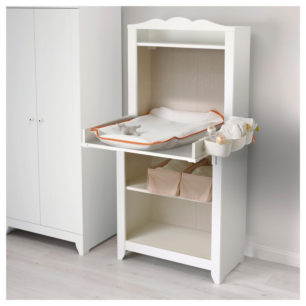 ikea hensvik changing table shelving unit in dereham norfolk gumtree. Black Bedroom Furniture Sets. Home Design Ideas