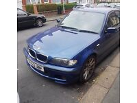 Bmw 330d 6 speed manual 204 bhp stok