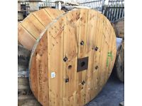 Cable drums used various sizes can deliver locally