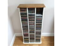 Pine CD storage unit