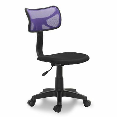 Drafting Chair Swivel Stool Office Seating Height Adjustable Black And Purple