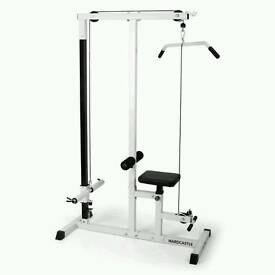 LAT PULL DOWN MACHINE + EXTRAS
