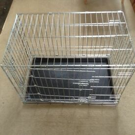 2 door dog crate for medium sized dogs