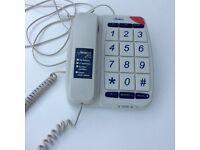 Large digit telephone