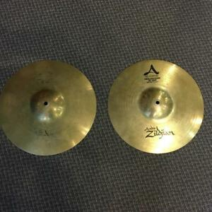 Zildjian Cymbales A custom Hi-hat 14 Projection - used-usagé