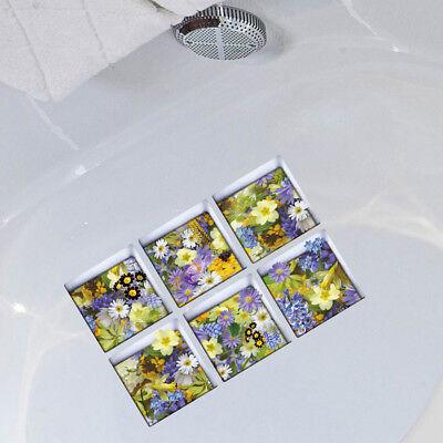 3D Effekt wasserdichte Badewanne Aufkleber Dusche Badewanne Abziehbilder (Badewanne Abziehbilder)