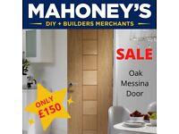 Messina Oak Door INTONES27 Internal Door