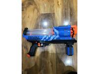 Nerf rival toy gun (blue toy nerf gun)