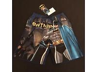 DC Comics Batman Swim Beach Shorts