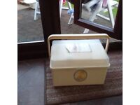 Baby bath and changing box