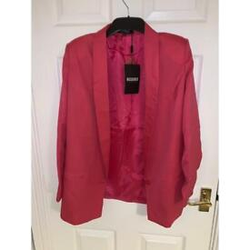 Pink jacket (Missguided) size 10