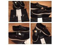 Gucci Zanotti Unisex Low Top Trainers Sneakers Shoes Brand New Box Dustbag & Receipt Sizes 4.5 to 10