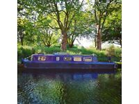 Gorgeous 40ft narrowboat for sale