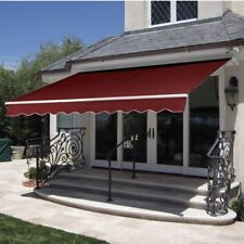 Retractable Awning Cover-Burgundy | eBay