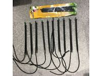 12 x Hozelock 2789 High Spike End Line Micro Irrigation Pack 12 WITH Micro Jets