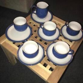 Denby Imperial Blue Tea Set