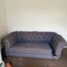 Free lovely old Chesterfield Sofa
