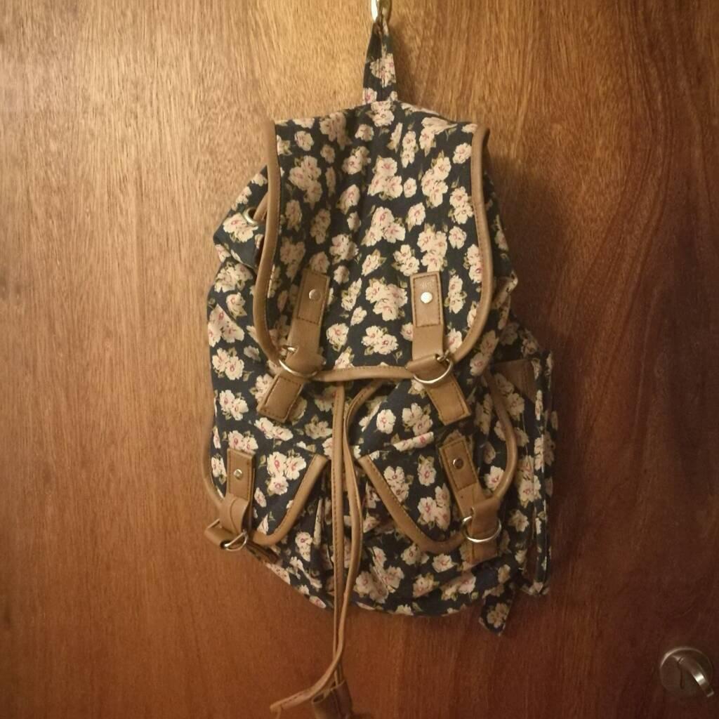 Accsessorize medium sized floral backpack