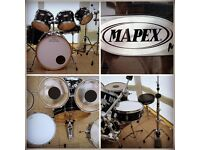 "MAPEX ""M"" SERIES 6 PIECE DRUM KIT WITH HARDWARE"
