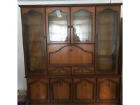 Traditional cupboard cheap as quick sale!