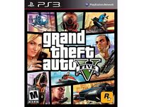 GTA5 PS3 GAME CD HARDLY BEEN USED