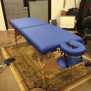 3B Deluxe Portable Massage Table - Blue- NEW/BOXED!