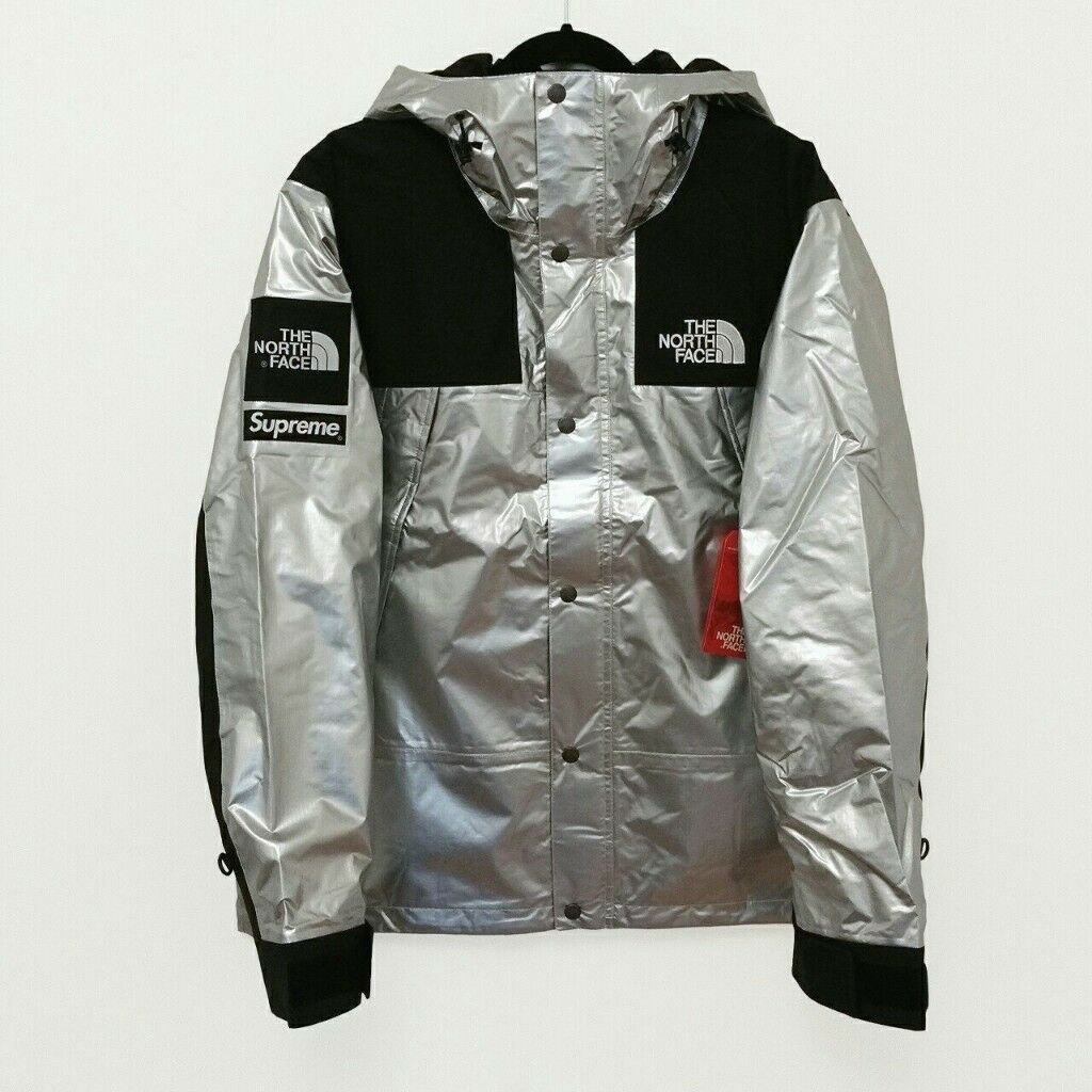 7a17decac Supreme x The North Face Metallic Silver Jacket / Coat / Parka - Large New  100% Authentic | in Ilford, London | Gumtree