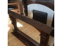Mahogany Fireplace Mantel for sale