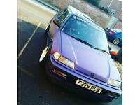 Honda civic gl 1989 for sale or swap for 4x4