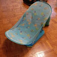 Baby bath tub, booster seats, potty trainer, rocker and toy