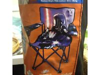 # CHILD'S STAR WARS FOLDING CAMPING CHAIR BRAND NEW NEVER USED ONLY £5.50 FOR QUICK SALE #