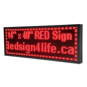 Scrolling LED Sign Store Sign ***www.ledsign4life.ca***from $129.99***We Build, Repair, & Maintain***