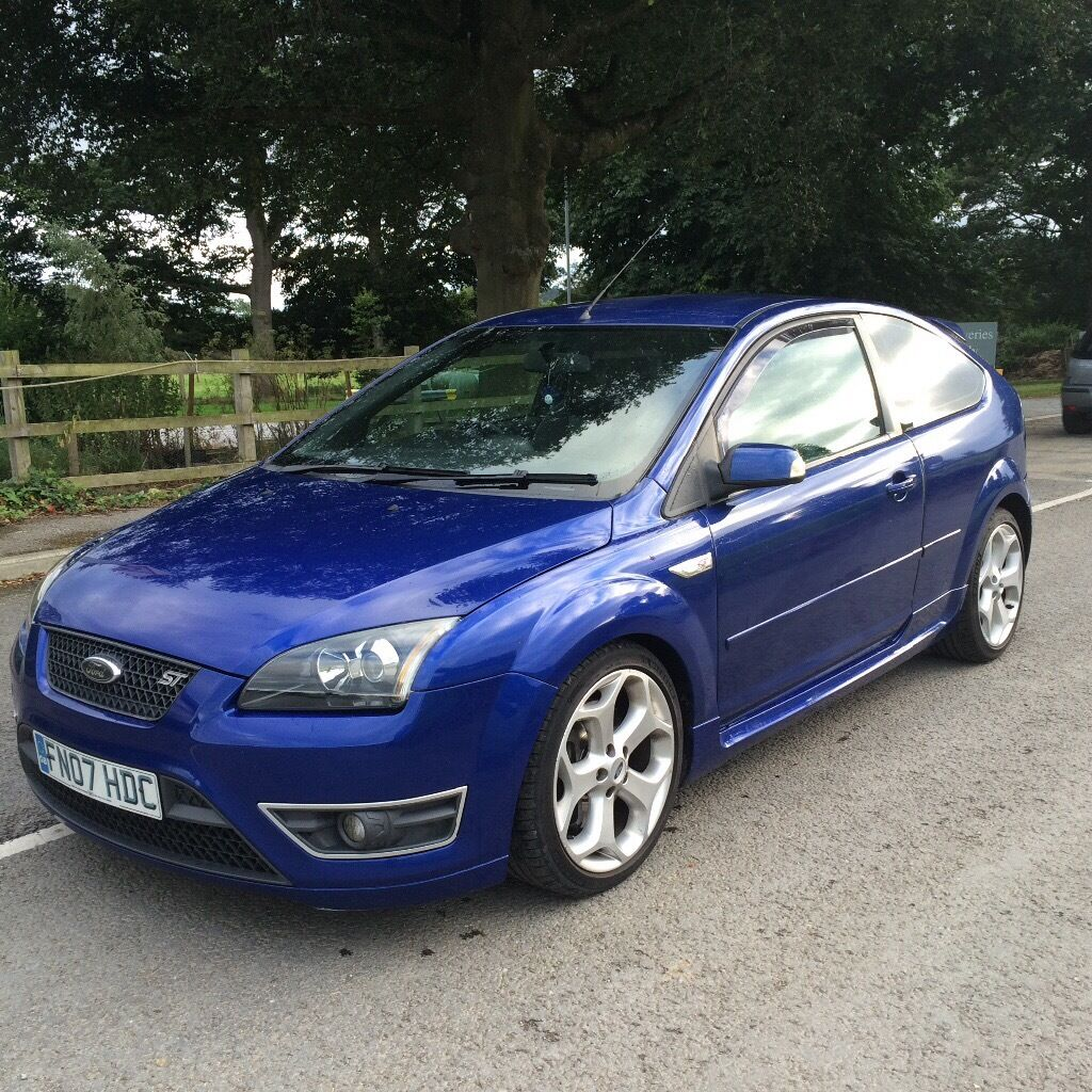 ford focus st 225 blue in ammanford carmarthenshire. Black Bedroom Furniture Sets. Home Design Ideas