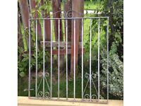 Galvanised garden gate 38x43