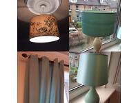 Duck egg blue livingroom accessories