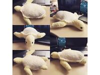 Collection only - handmade stuffed toy - Heidi Bears turtle