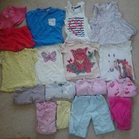 18-24m girls bargain summer bundle
