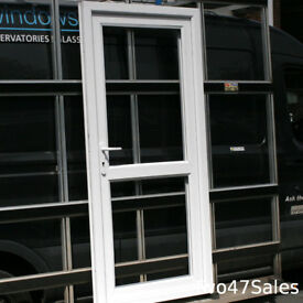 Glazed uPVC Door | 904w x 2004h | White