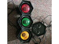 Qfx 3 Colour Traffic Disco Light