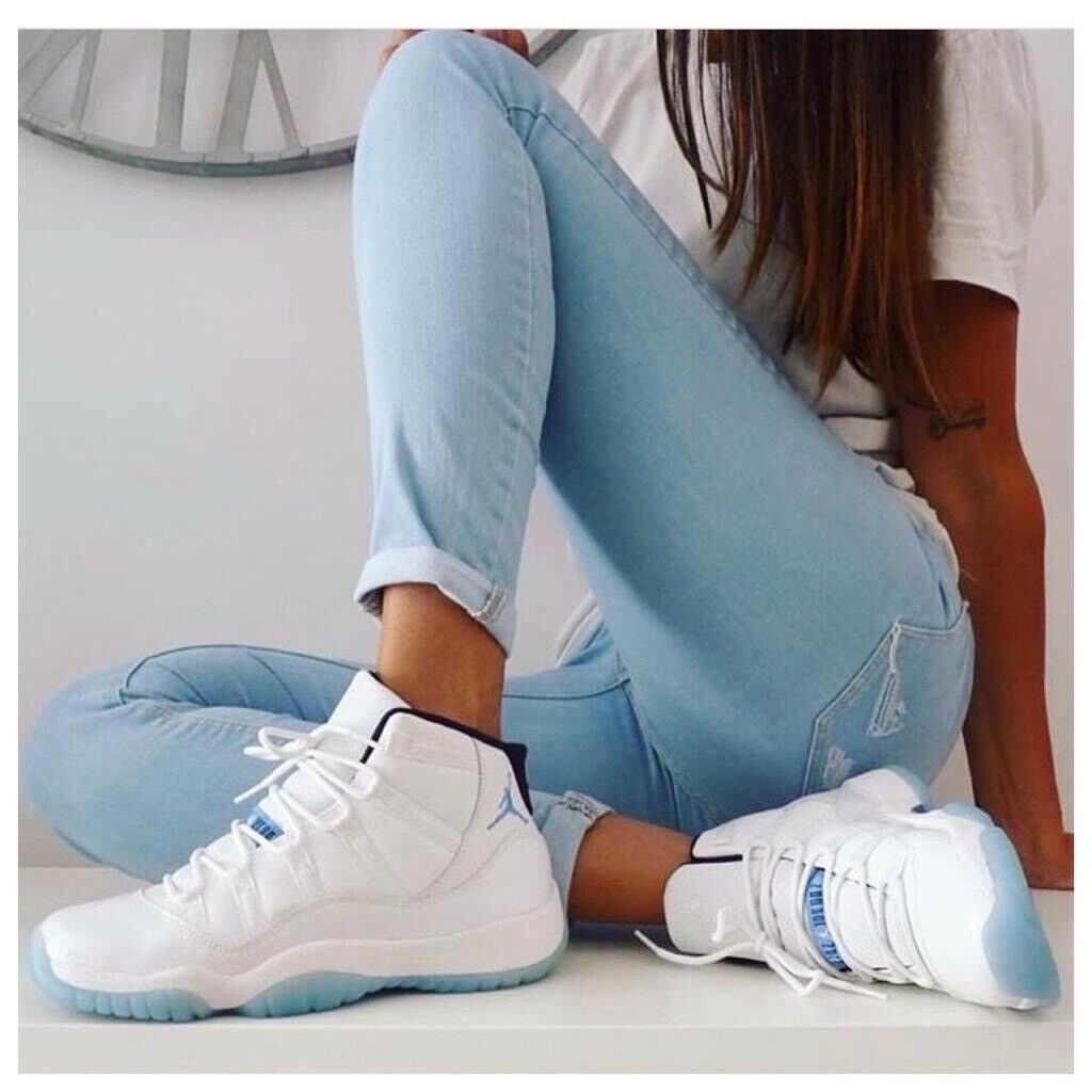Nike Air Jordan 11 Colombia 2014 Legend Blue Retro XI WOMENS UK 5 US 5.5 EU 38 RARE SIZE 100sales | in North London, London | Gumtree
