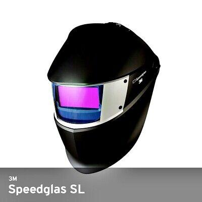 3m Speedglas Welding Helmet Sl With Auto Darkening Shades 8-12 Filter 05-0013-41