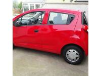 2013 chevrolet spark not fiesta clio or corsa 1.0 £30 year road tax