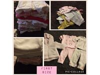 Baby Girls clothes bundle FIRST SIZE