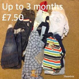 Boys clothing bundles